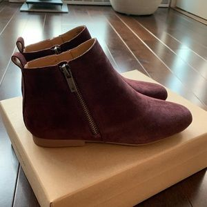 BNIB suede ankle boot